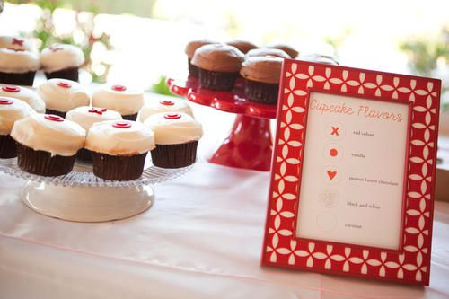 Don't forget the menu so your guests know which flavors they're enjoying!