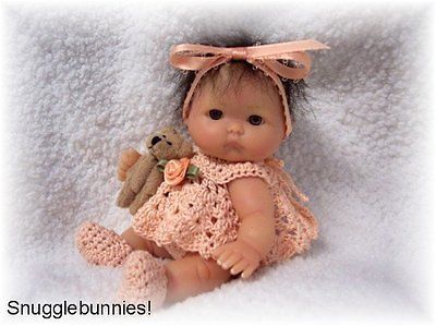 6 ULTRA TINY RATTLES FOR TINY REBORN  OOAK SCULPT BABY !