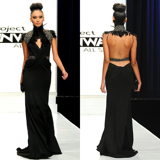 In love with this dress by Michael Costello from Project Runway ...