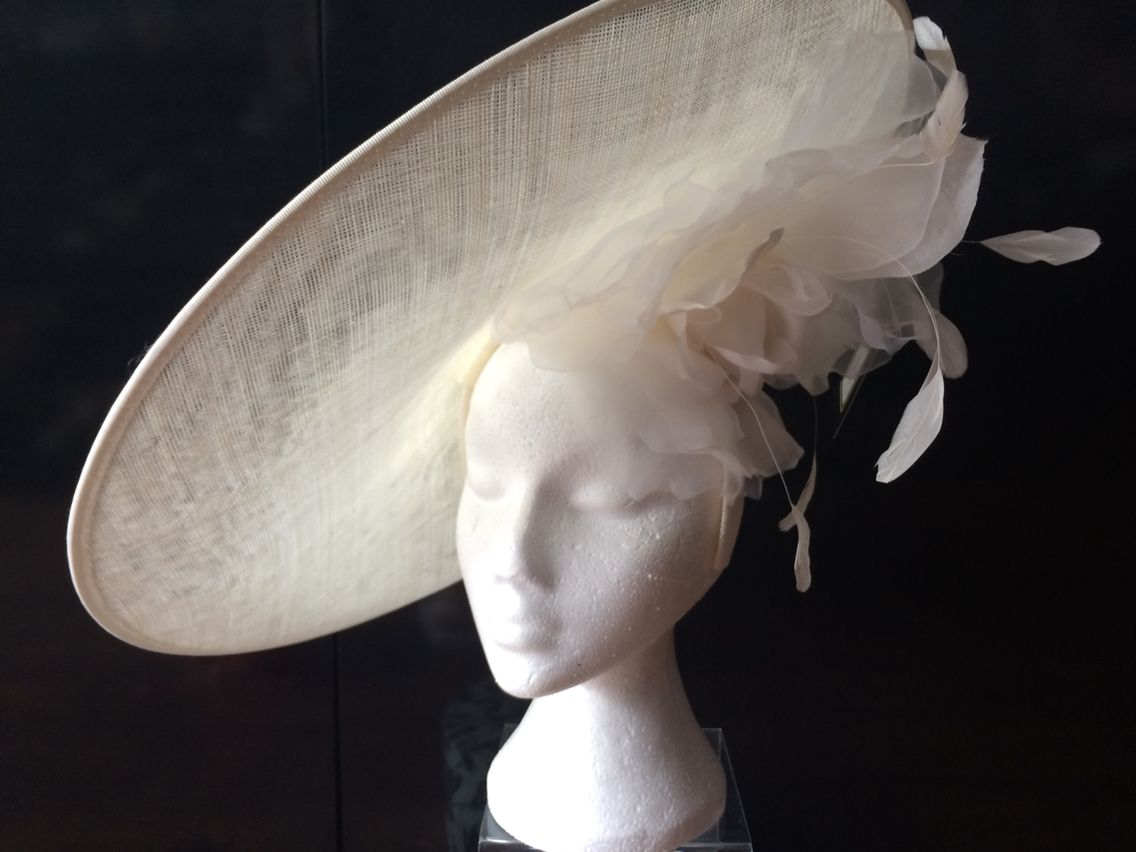 6e1d1fe1b5f Ivory hat from hadleigh hats www.hadleighhats.co.uk