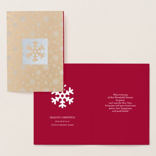 seasons greetings custom christmas cards - Custom Christmas Cards For Business
