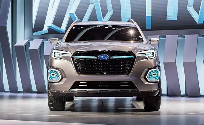 2018 subaru ascent. exellent 2018 2018 subaru ascent redesign with subaru ascent