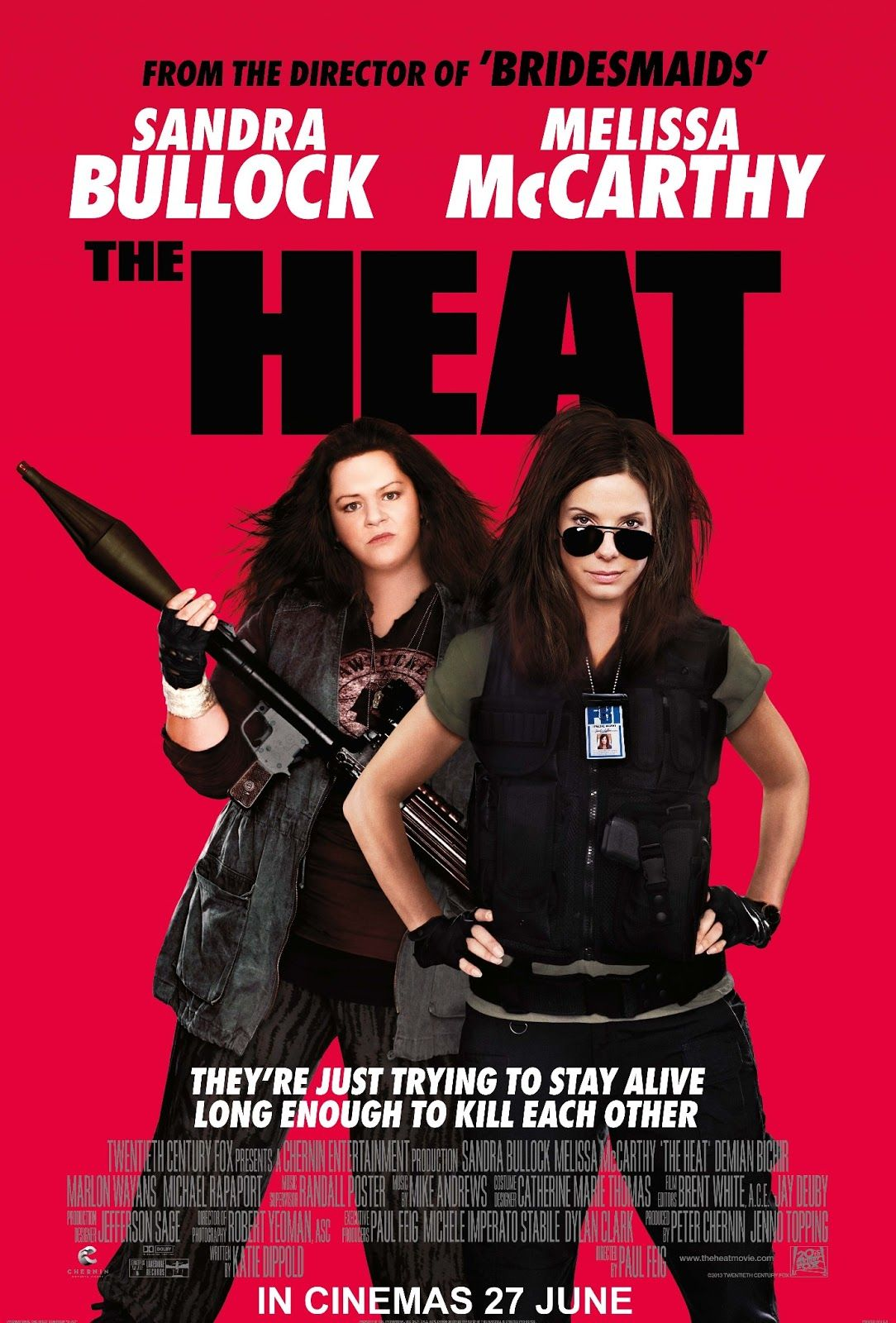 In Action Comedy The Heat Sandra Bullock And Melissa Mccarthy Star As Two Halves Of A Mismatched Cop Duo On The Trail Of Some Boston Drug Runners