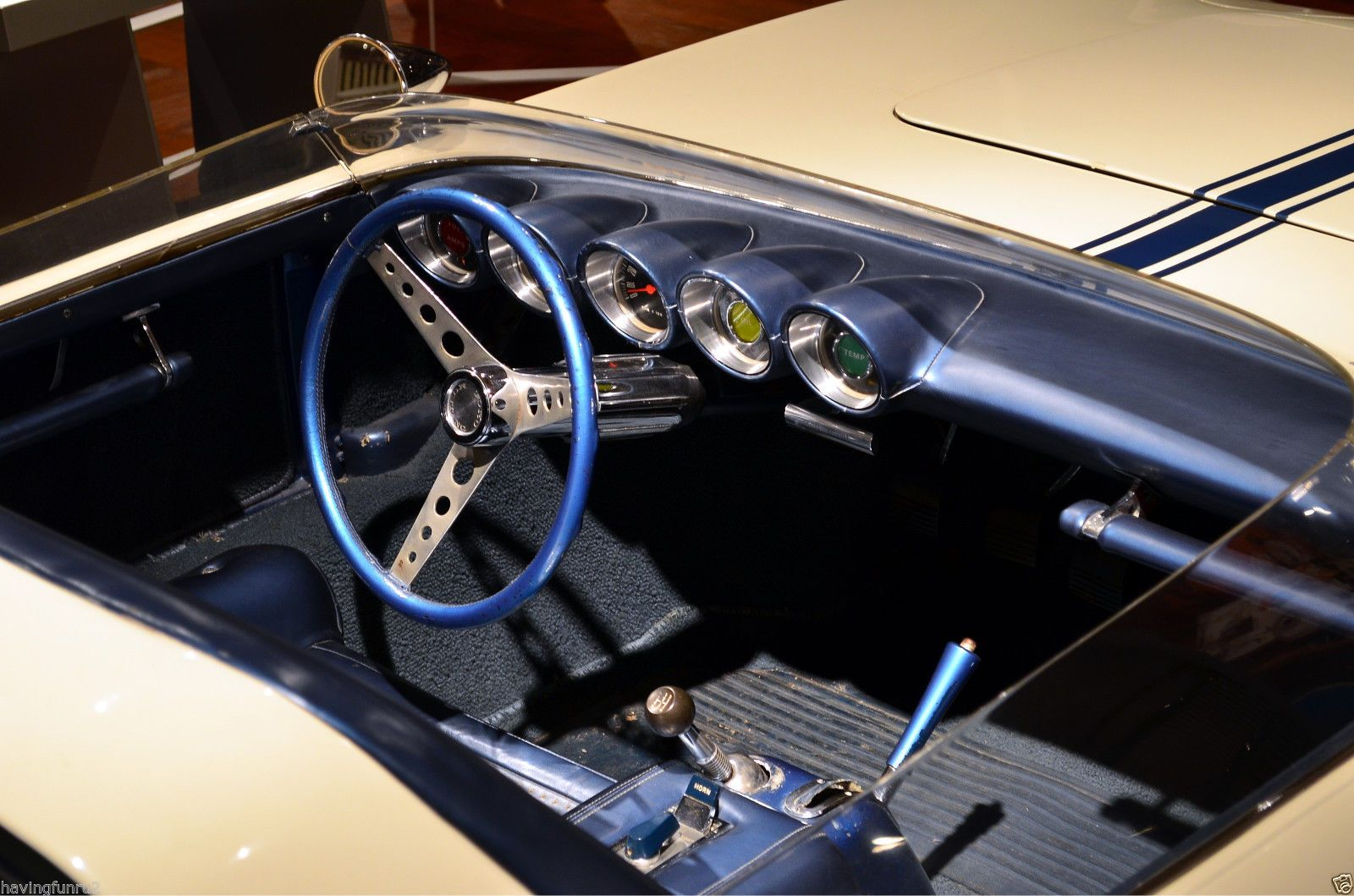 1962 Ford Mustang prototype interior. What a great year, '62