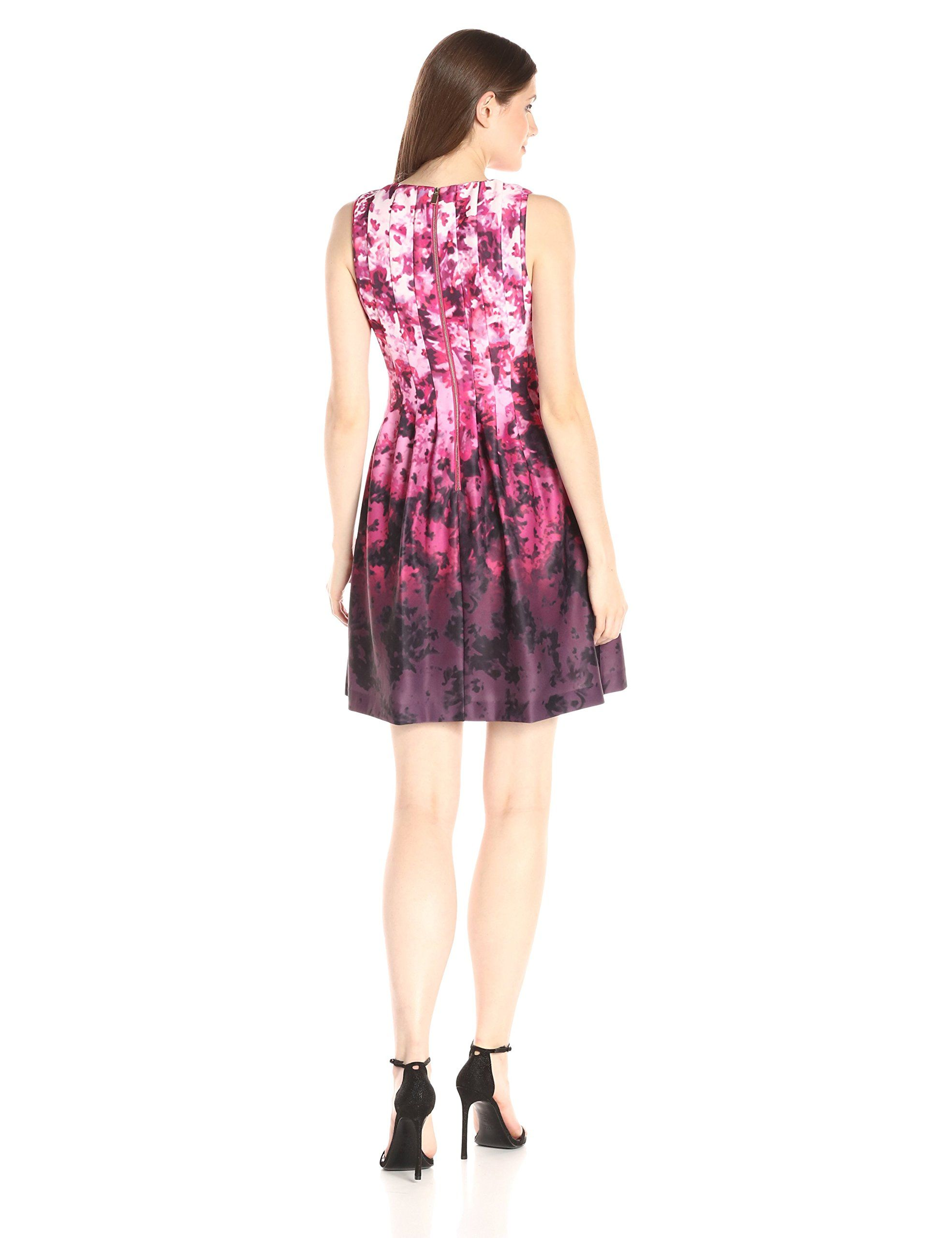Vince Camuto Womens Fitandflare Dress Pink 4 For More Information Visit Image Link This Is An Affiliate Lin Dresses Fit And Flare Dress Pink Dress Women [ 2560 x 1969 Pixel ]
