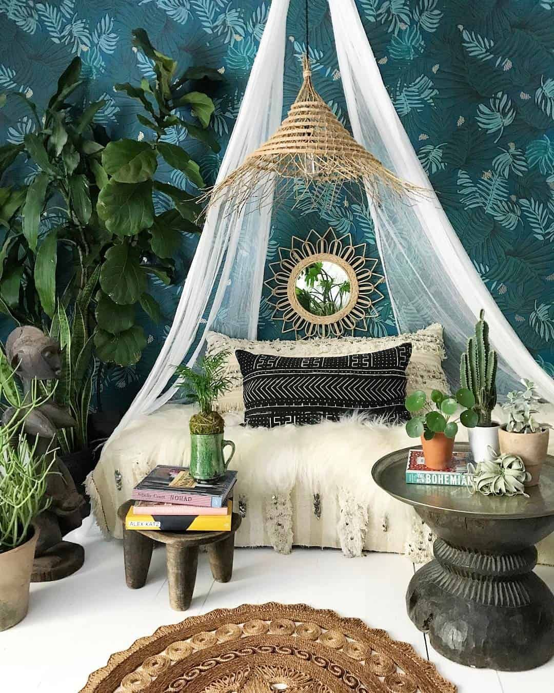 Photo of 10 Ways to Give Your Bedroom a Bohemian Twist