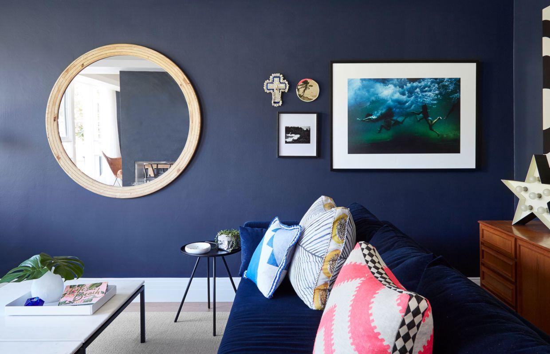 Blue mood en d co d cor bleu blue pinterest pr s de la maison et maisons - La maison trojan melbourne ...
