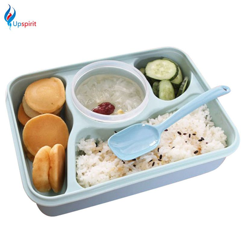 7bc0efe3cf04 New Design Microwave Lunchbox Plastic Sealed Bento Box 4 ...