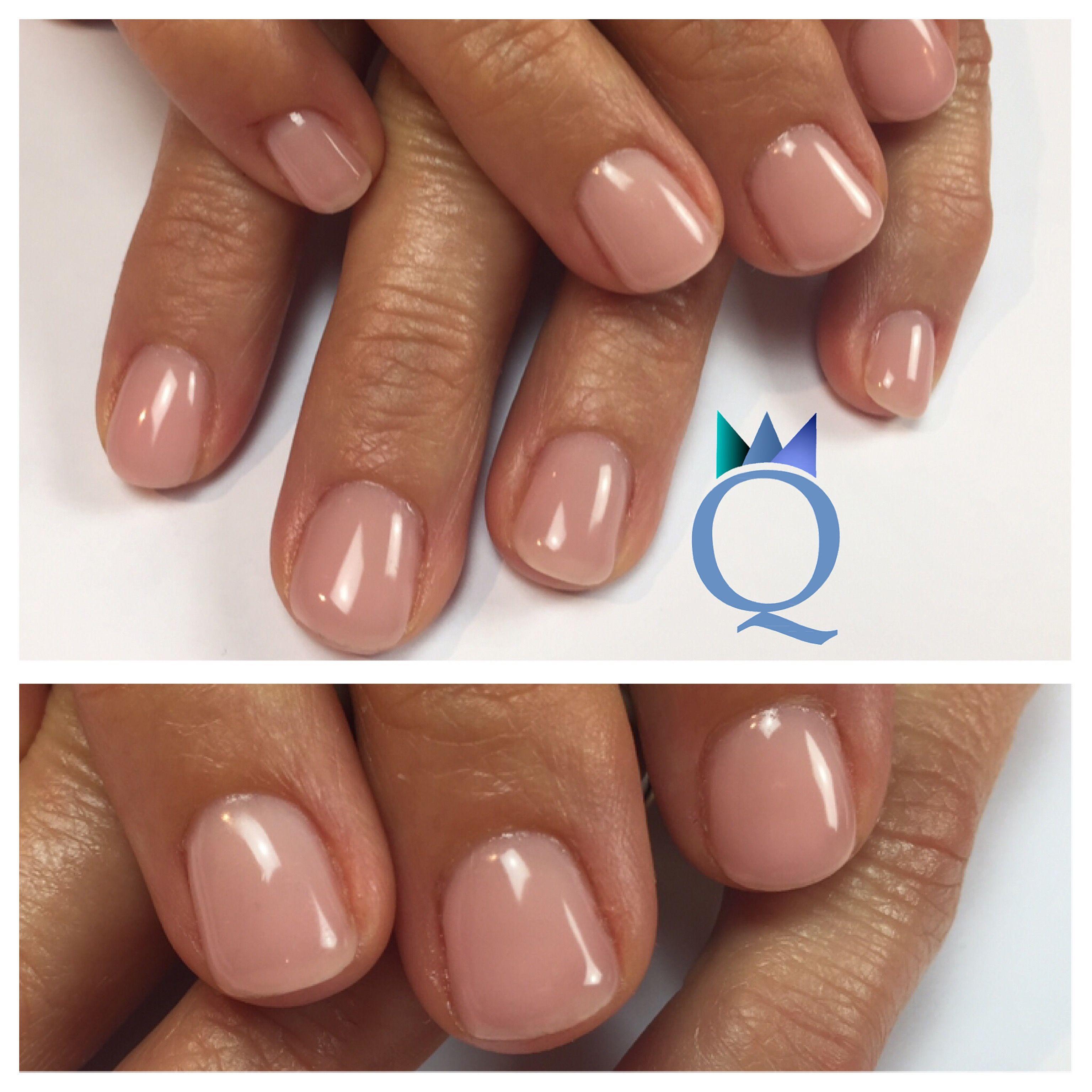 shortnails #gelnails #nails #nude #natural #yvesswiss #kurzenägel ...