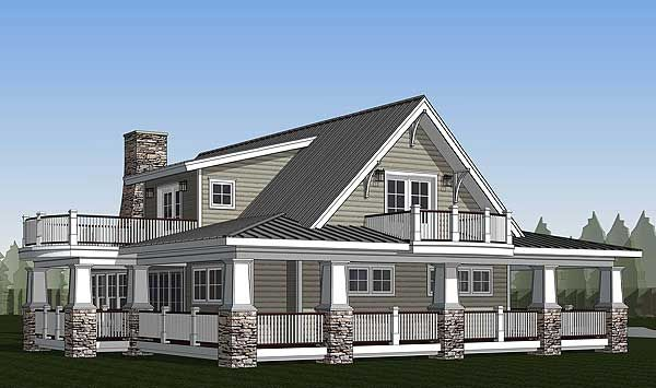Plan 18286be Country Home With Wraparound Porch And 2 Balconies Porch And Balcony House With Balcony House With Porch