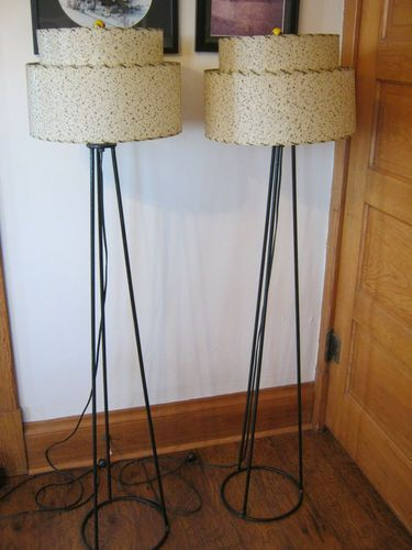Mid Century Modern Lamp Shades Captivating Mid Century Modern Lamp Shades  Podfloorlampstwotier Design Ideas
