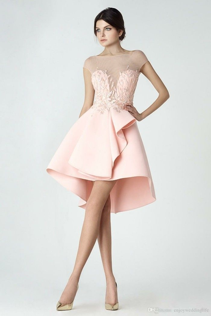 Cocktailkleid in süßem Rosa | mode&trends | Pinterest | 50th