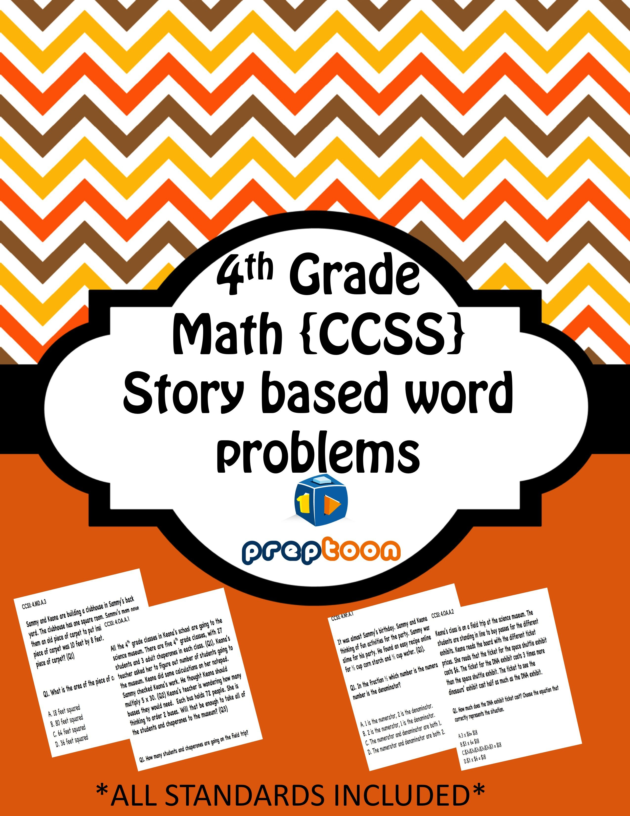 hight resolution of This common core math set covers all the 4th grade standards. You get 56  worksheets and 224 critical…   Common core math worksheets