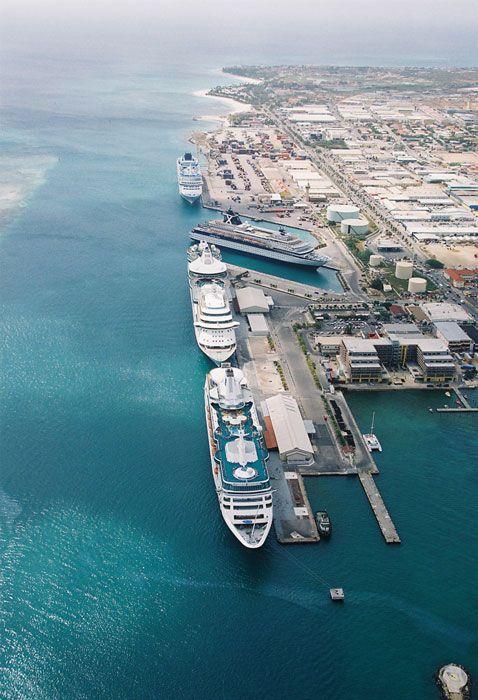 Cruise Port TRAVEL Pinterest Cruises Aruba Cruise And - Cruise ships in aruba