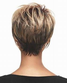 Image Result For Short Haircuts For Women Over 50 Back View Short Hair Back Hair Styles Short Hair Styles