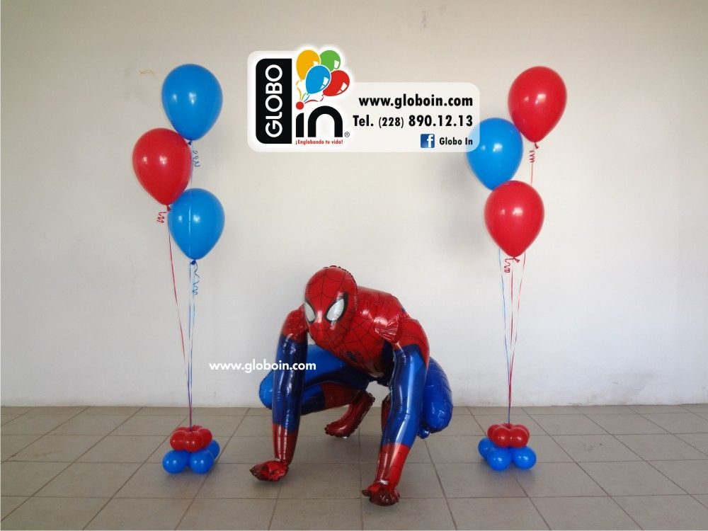 Resultado de imagen para decoracion en globos hombre ara a for Decoracion de globos para hombres