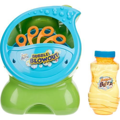 Imperial Bubble Blowout Bubble Machine Multi Outdoor Games And