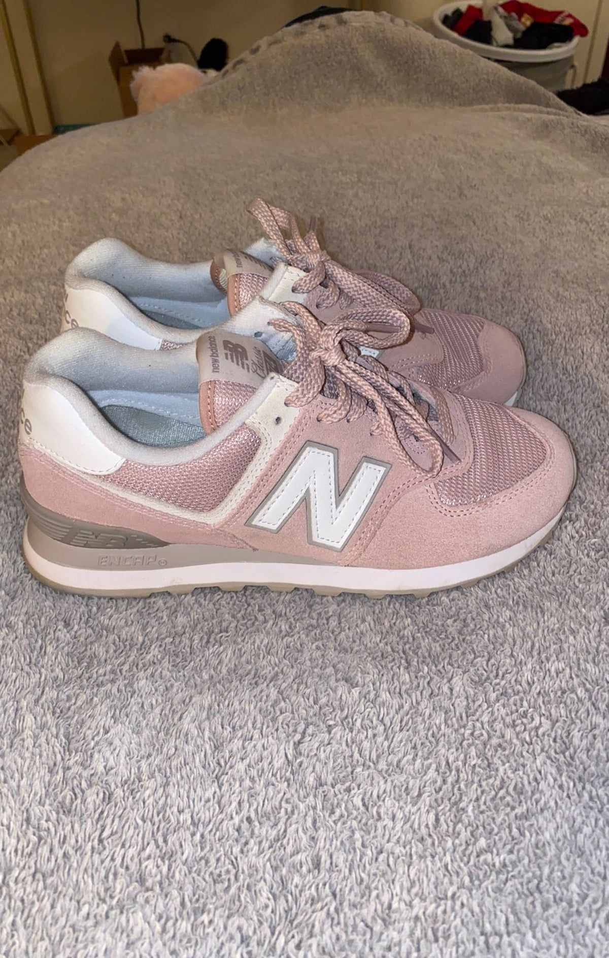 Womens New Balance 574 Classic in 2021 | New balance 574 pink, New ...