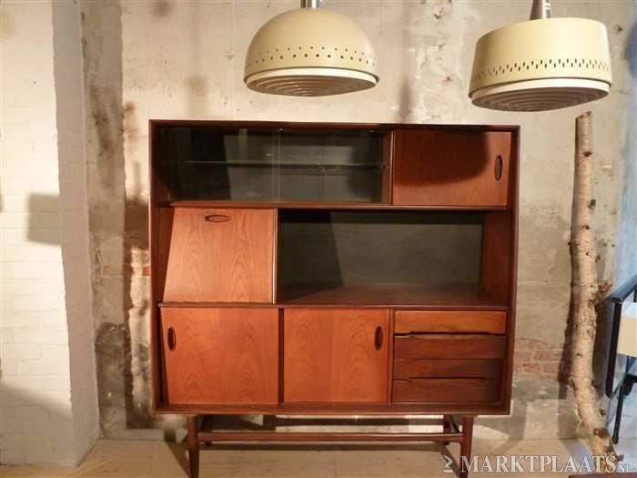 Marktplaatsnl Retro Vintage Kast Jaren 60 Nr31 Huis En