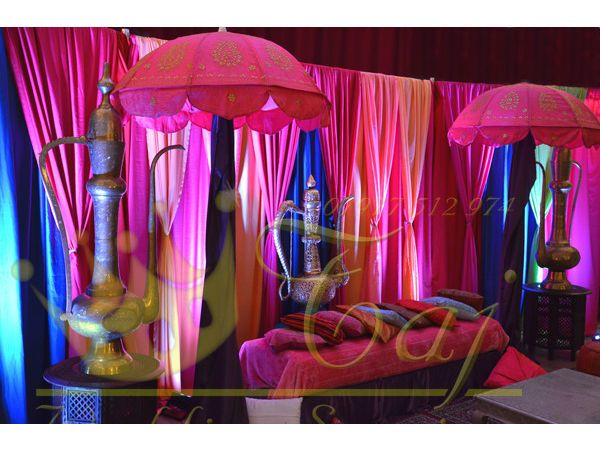 Mehndi Stage Hire : Asian indian wedding mehndi stages backdrops decor marquee tent