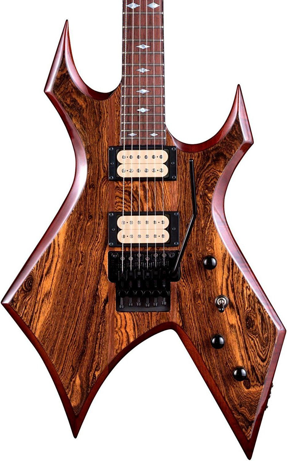 B C Rich Warlock Neck Through With Floyd Rose And Dimarzios Electric Guitar Gloss Natural By B C Rich Jsmartmusic88 Com Con Imágenes Guitarras Instrumentos Amplificador