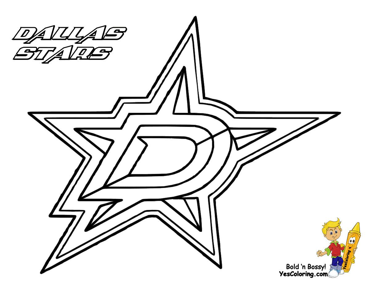 28 Beautiful Dallas Cowboys Coloring Pages in 2020 (With ...
