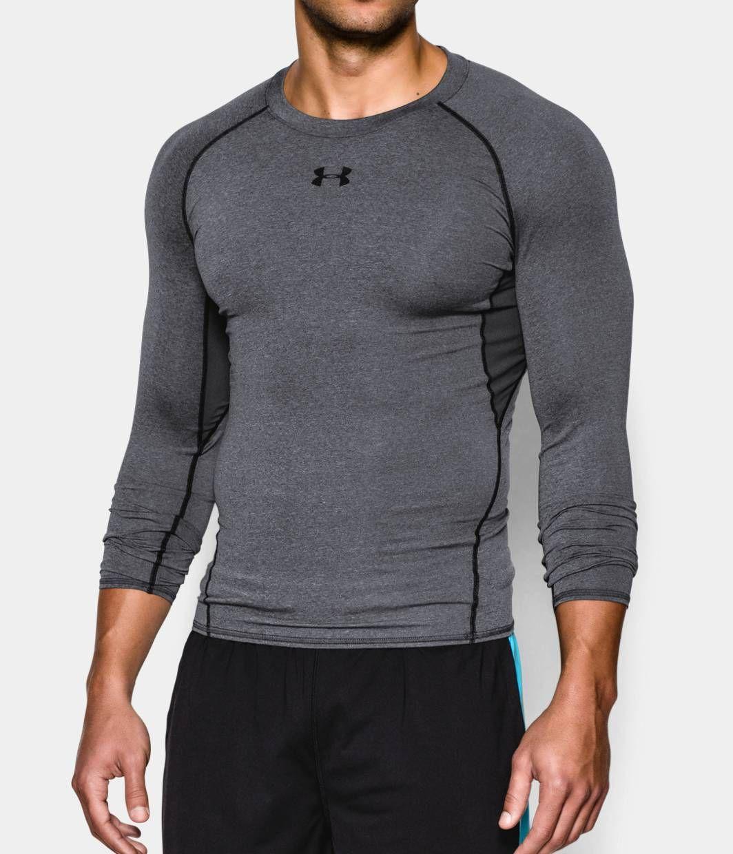 Men S Heatgear Armour Long Sleeve Compression Shirt Under Armour Za Ropa Deportiva Para Hombre Moda Ropa Hombre Ropa Gym Hombre