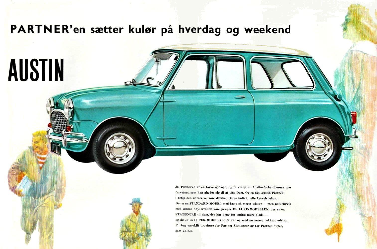 1961 Austin Mini | Classic Marques - Austin | Pinterest