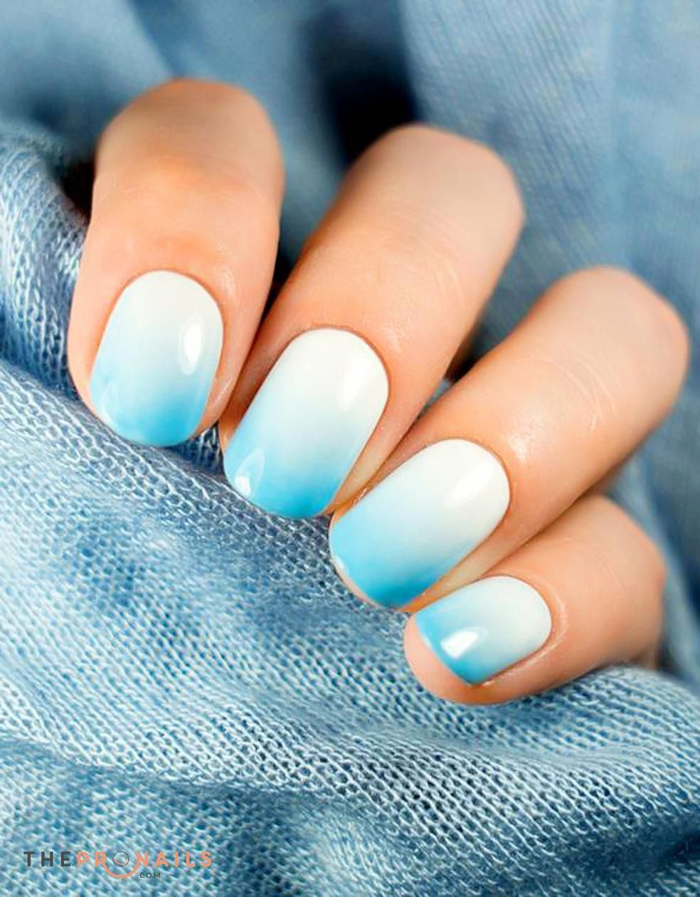 Coral ombre gel glitter nail designs   Toe nail art, Nails