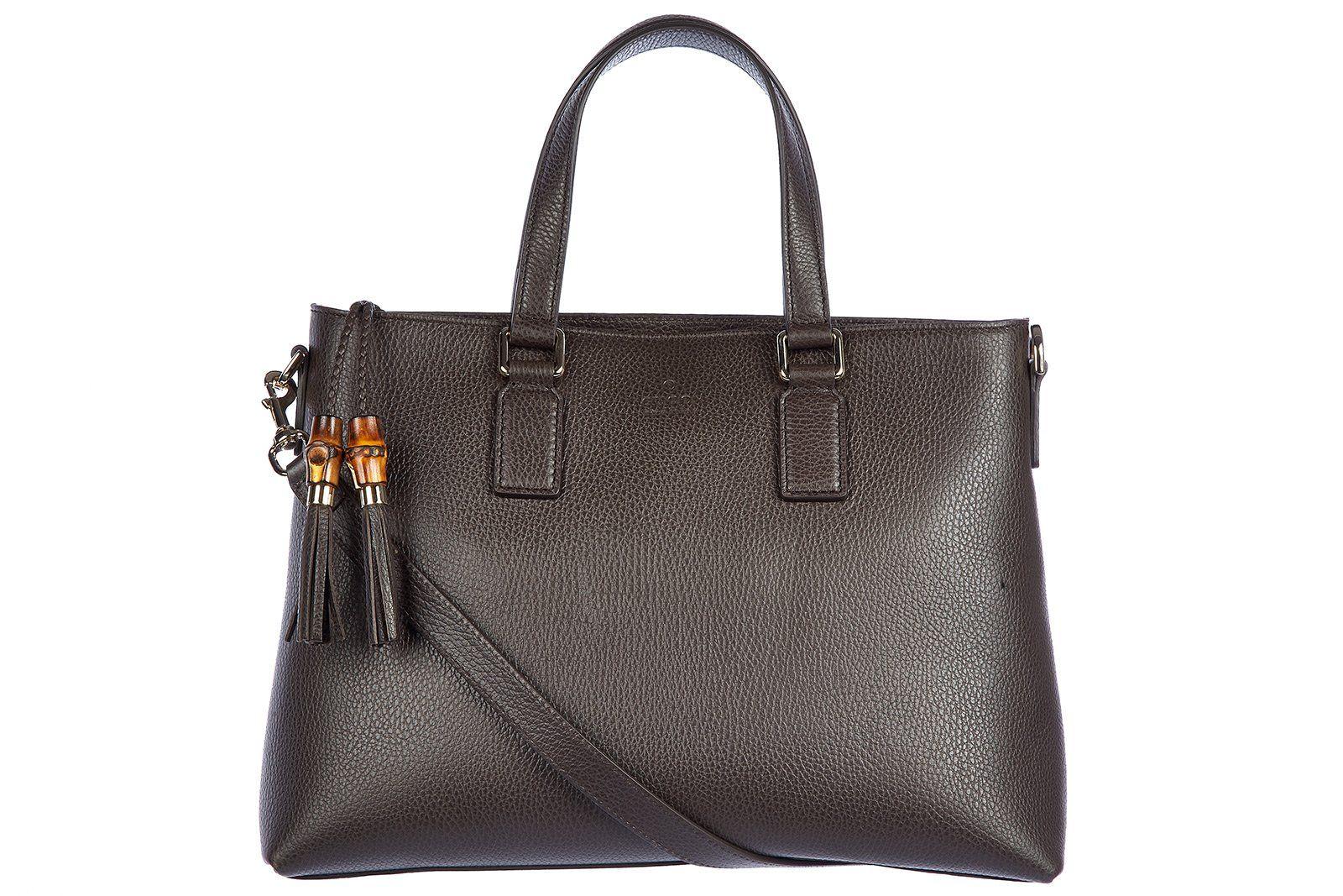 gucci leder handtasche damen tasche bag dollar calf braun must have handbags pinterest. Black Bedroom Furniture Sets. Home Design Ideas