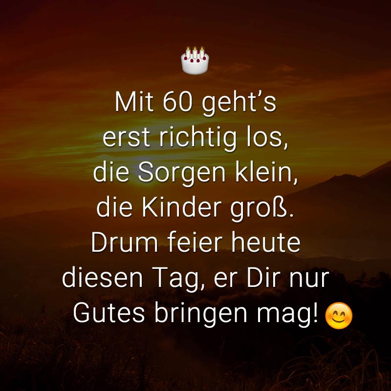 Spruche Zum 60igsten Schone Spruche Zum 60 Geburtstag Zum