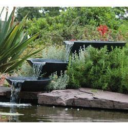 Cascade naturelle pour bassin nova scotia fontaine de Accessoires pour bassin de jardin