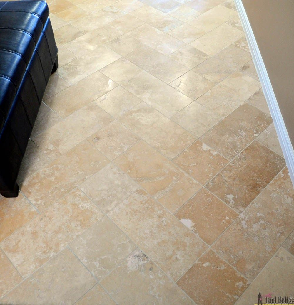 Travertine Tile on a Budget | For the Home | Pinterest | Travertine ...