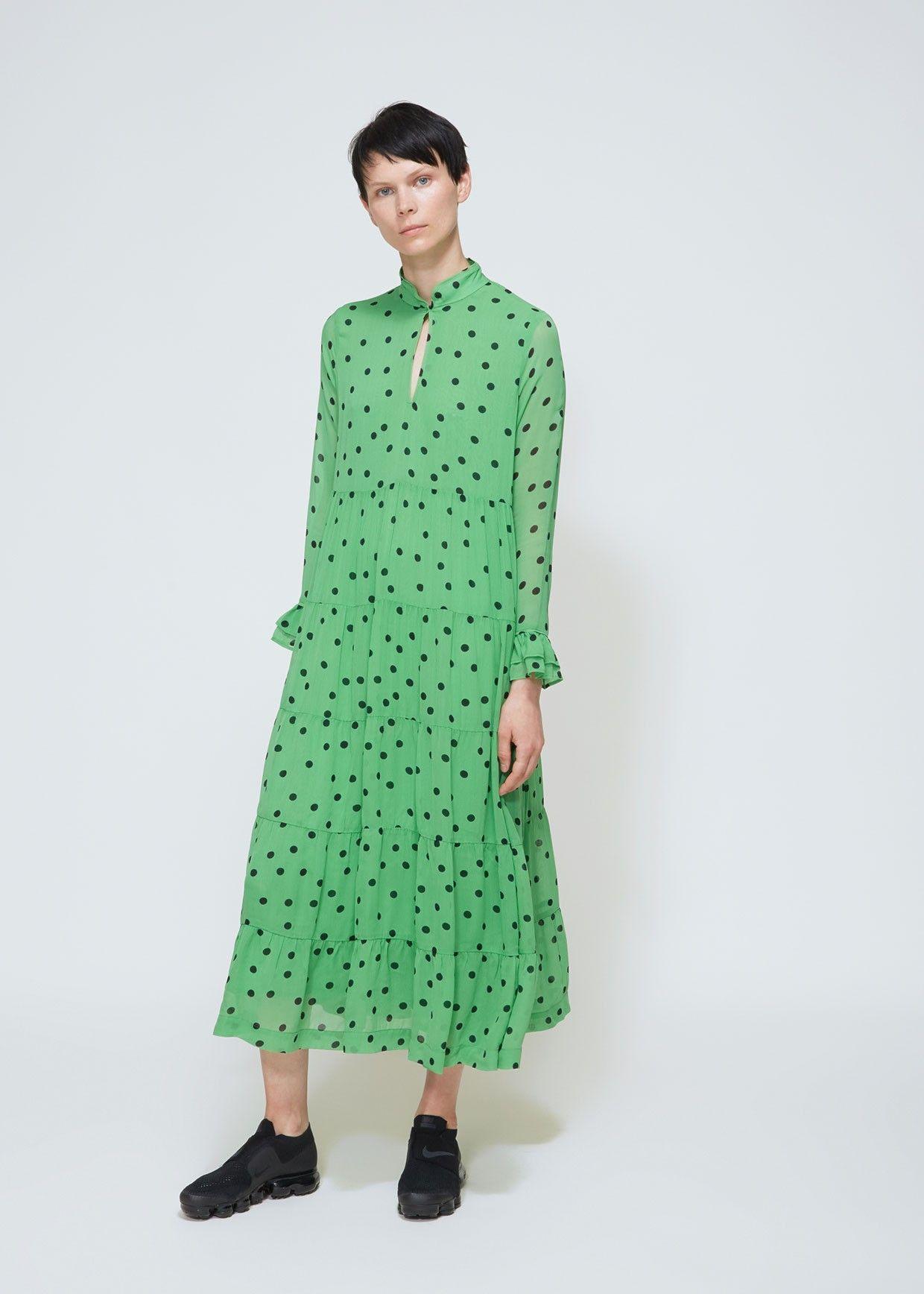 29bdaebadf1c Totokaelo Dainty Georgette Dress - Ganni - Designers - Womens