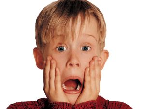 Awesome Macaulay Culkin Doing What He Does Best Mock Shock Face Download Free Architecture Designs Scobabritishbridgeorg