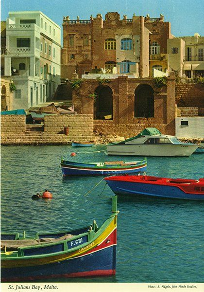 john hinde postcards - Malta