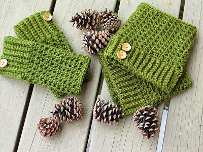 Brooklyn Fingerless Mitts Or Wrist Warmers Crochet Pinterest