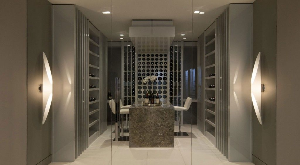 Modern Wine Cabinet Design modern home wine lounge room design ideas with contemporary grey