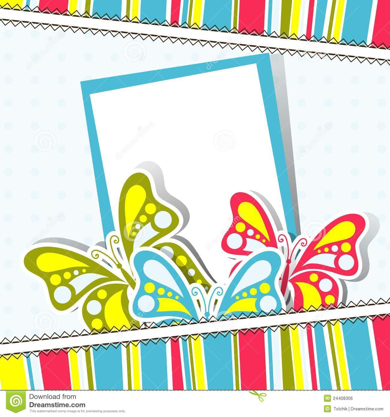 Template Greeting Card Vector Royalty Free Stock Image  Image