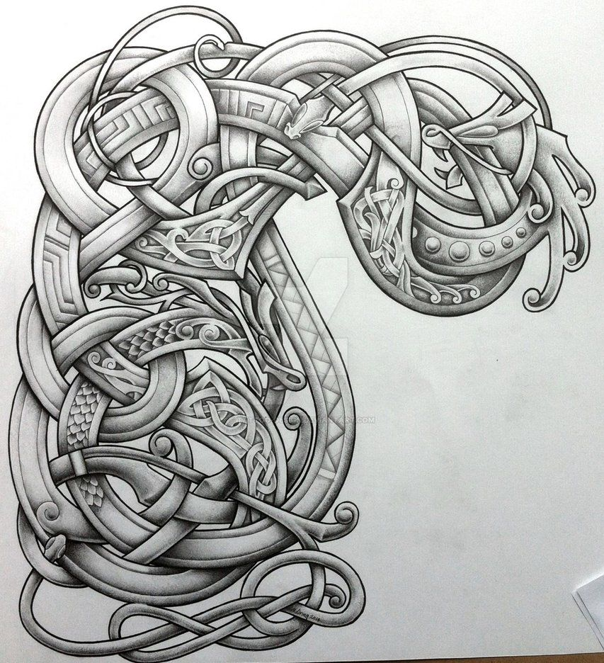 Stylised arm and chest design by TattooDesign on DeviantArt