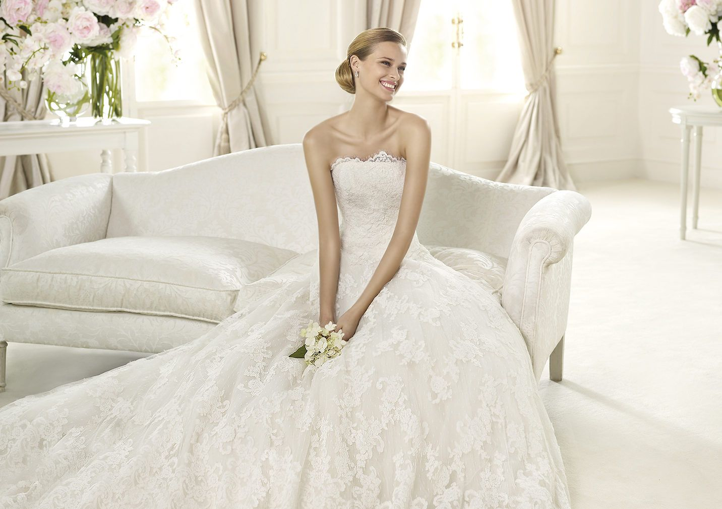 Pronovias presents the berlin wedding dress costura