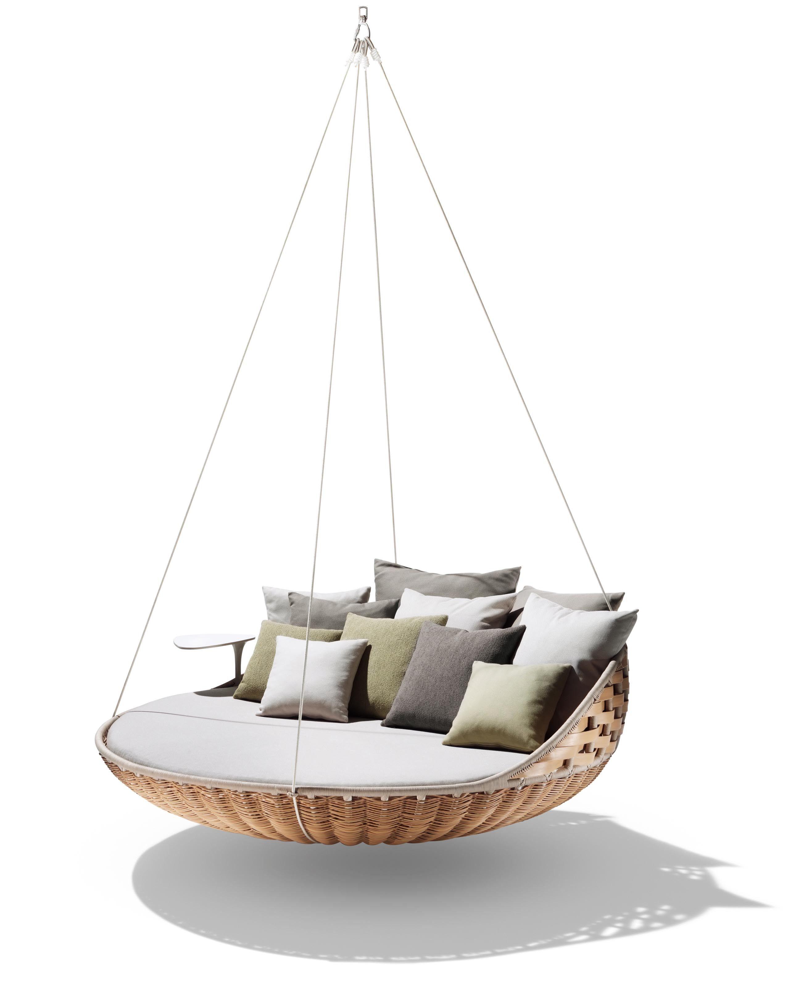 Magnificent Dedon Swingrest Hanging Lounger Sofa In 2019 Outdoor Machost Co Dining Chair Design Ideas Machostcouk