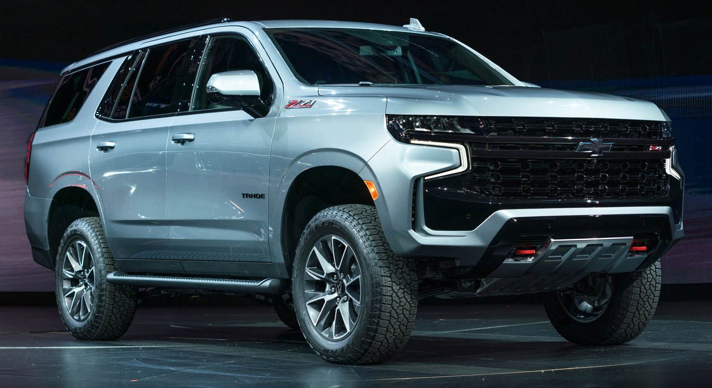 2020 Chevrolet Tahoe Full Size Family Suv With An Impressive V8 Engine Chevrolet Tahoe Family Suv Chevrolet