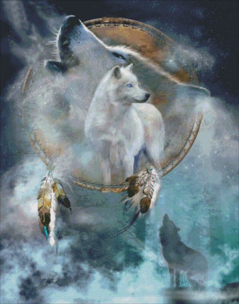 Spirit Wolf [CAVALARIS1690] - $12.35 : Heaven And Earth Designs, cross stitch, cross stitch patterns, counted cross stitch, christmas stockings, counted cross stitch chart, counted cross stitch designs, cross stitching, patterns, cross stitch art, cross stitch books, how to cross stitch, cross stitch needlework, cross stitch websites, cross stitch crafts