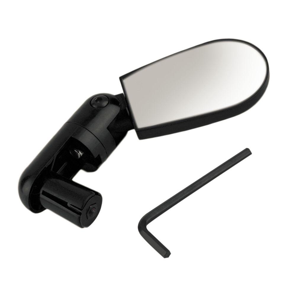 Mini Bicycle Mirror Bike Handlebar Rotate Cycling Rearview Handlebar Mirror B J0