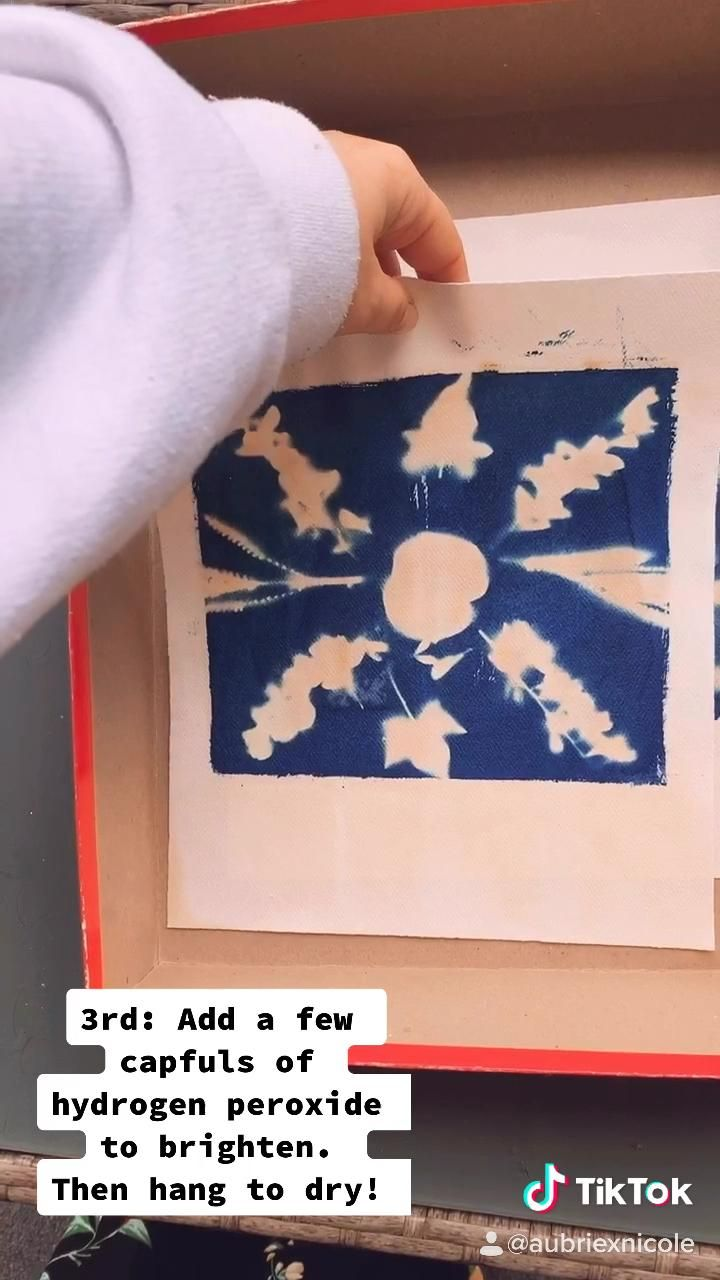 #alternativeprocesses #photo #cyanotype #athome #arttutorials #artwork