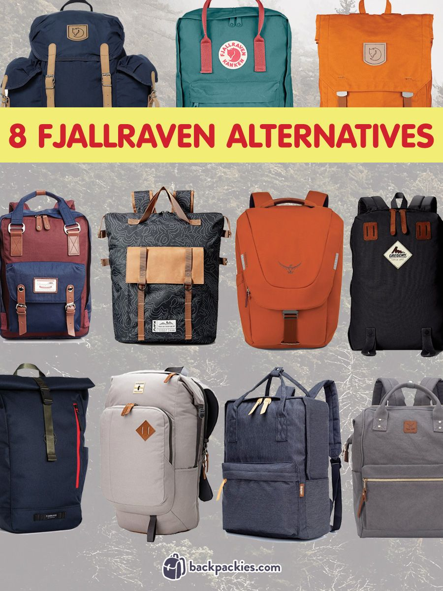 2cebb57dd37 Discover brands like Fjallraven and backpacks like Kanken with this list of  alternatives. These backpack brands combine outdoor style with modern  utility.