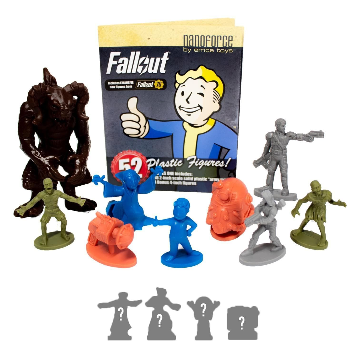 Fallout Nanoforce Series 1 Army Builder Figure Collection Boxed Volume 3 In 2021 Unique Stocking Stuffers Classic Army Collection Box