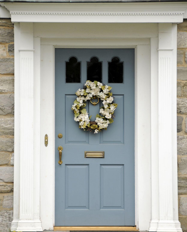 10 Best Practices for Blue Front Door Ideas | Door handles, Front ...