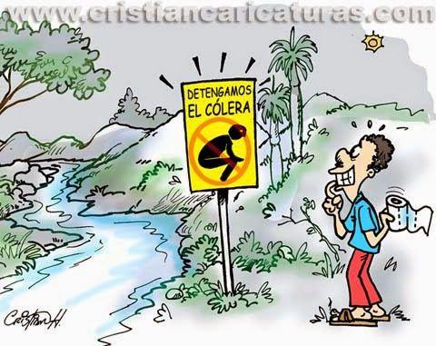 El Cólera, una enfermedad tan temida por todos, consiste en un estado agudo de irritación del intestino. Cuando es leve, presenta la diarrea como el síntoma principal.